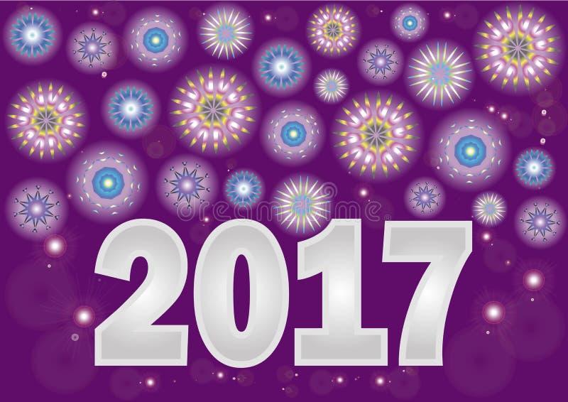 Ano novo ilustração royalty free