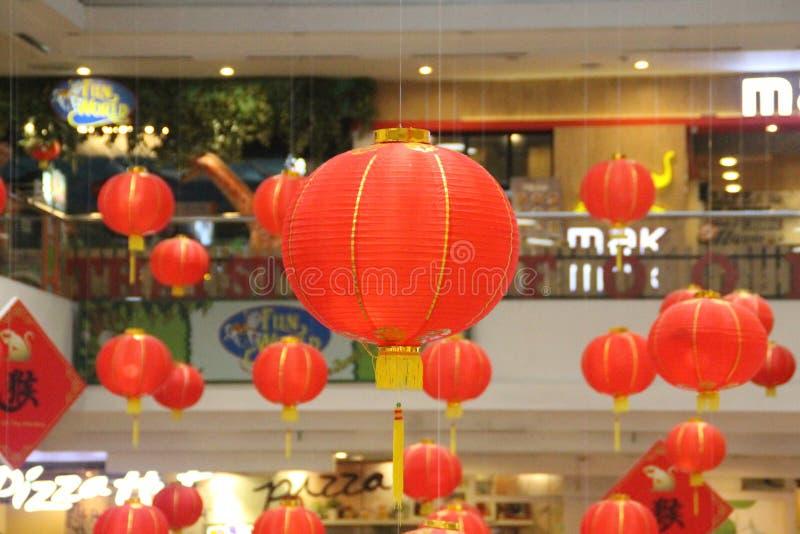 Ano novo chinês das lanternas imagem de stock royalty free