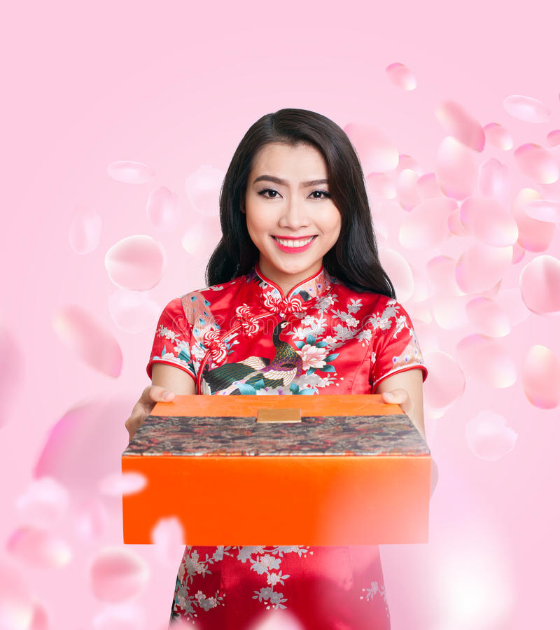 Ano novo chinês feliz fotos de stock royalty free