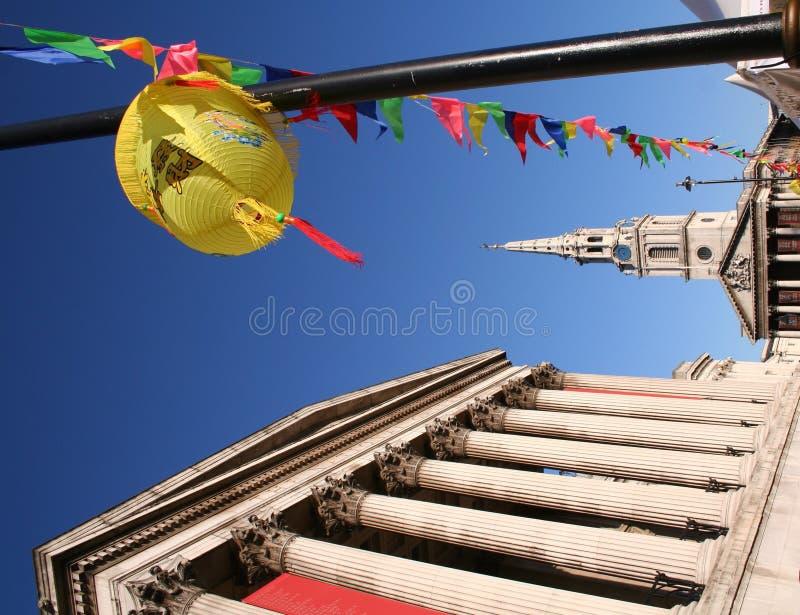 Ano novo chinês, Londres imagem de stock