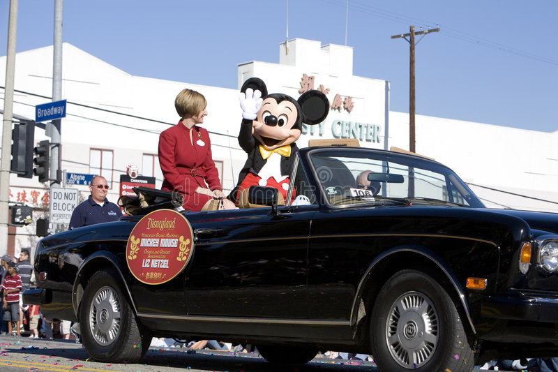Ano novo chinês Marshall grande Mickey Mouse 2 fotos de stock royalty free