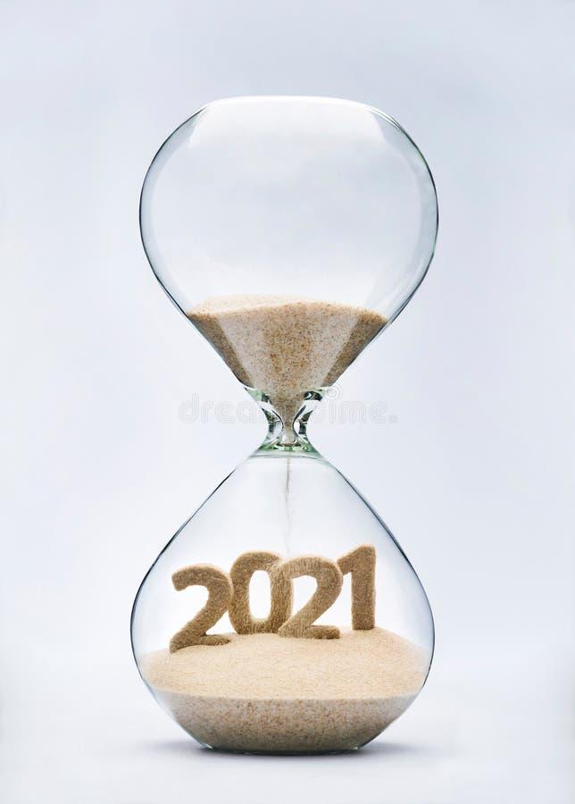 Ano novo 2021 imagem de stock royalty free