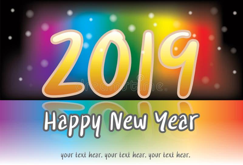 Ano novo da celebração fotografia de stock royalty free