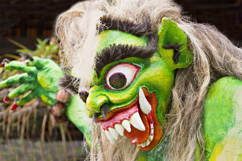 Ano novo do Balinese imagem de stock