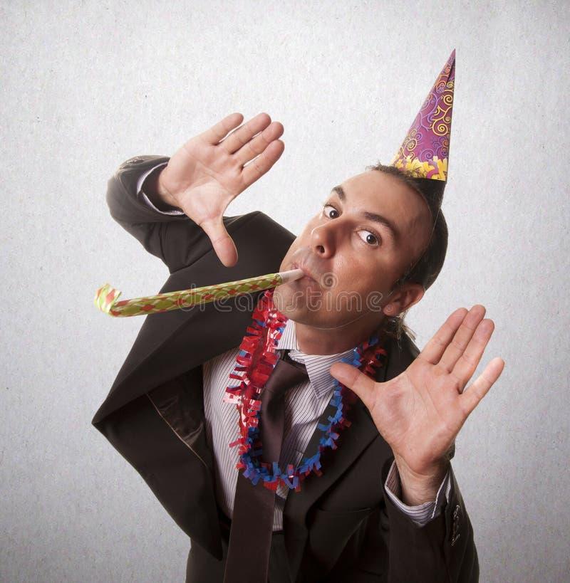 Ano novo do partido fotografia de stock royalty free