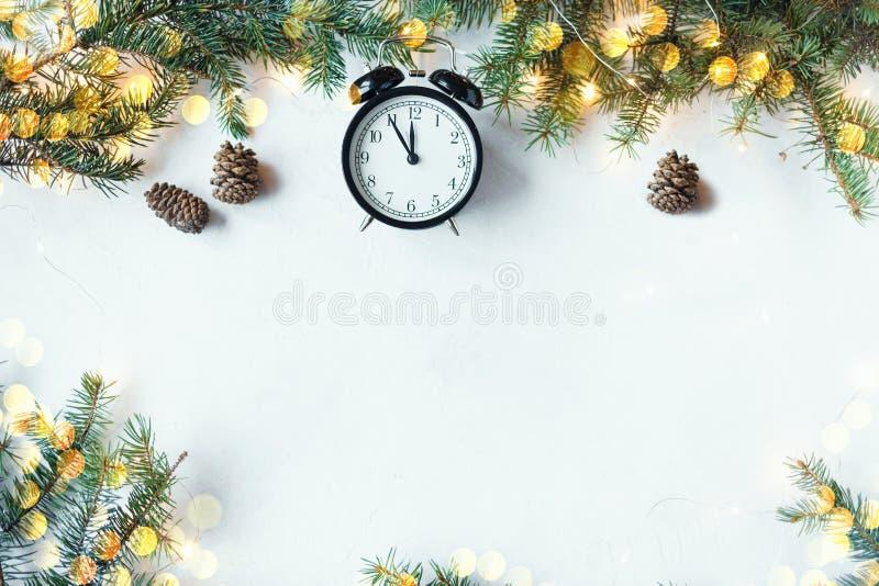 Ano novo e conceito do Natal E imagens de stock royalty free