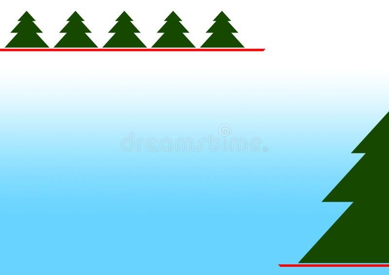 Ano novo e Feliz Natal ilustração royalty free