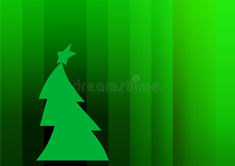 Ano novo e Feliz Natal ilustração stock