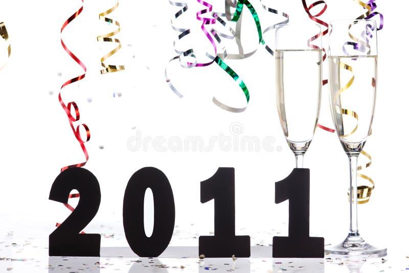 Download Ano novo feliz imagem de stock. Imagem de data, branco - 16868835
