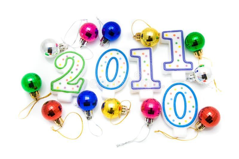 Ano novo feliz 2011 fotos de stock royalty free