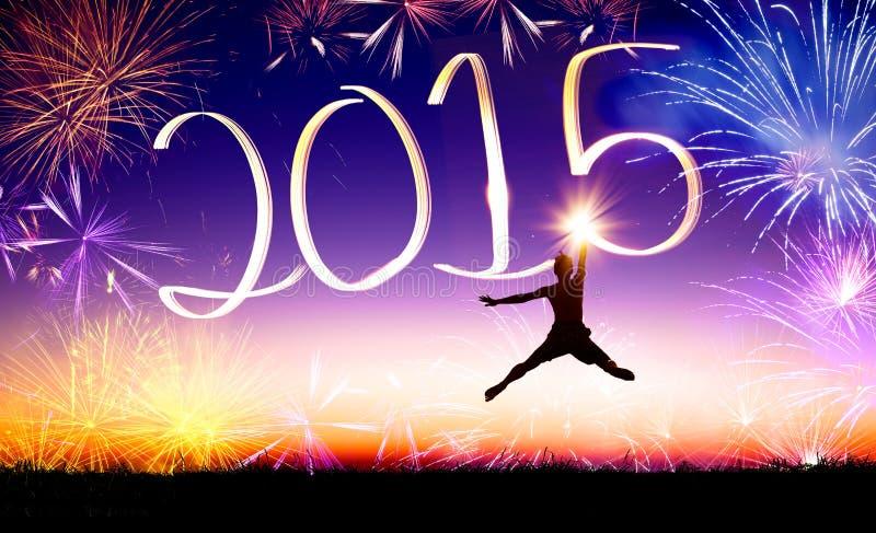 Ano novo feliz 2015 fotos de stock