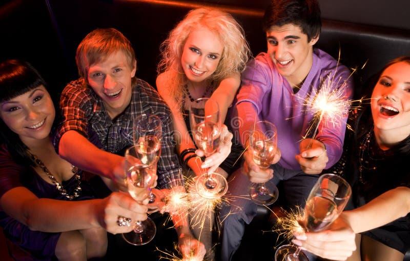 Ano novo feliz! imagens de stock royalty free