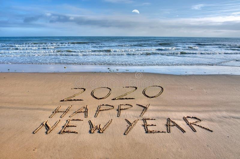 Ano novo feliz 2020 de Fran?a imagem de stock