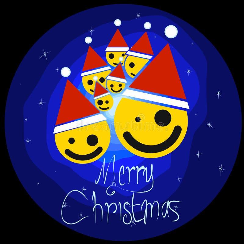 Ano novo feliz do feriado do Natal fotografia de stock royalty free