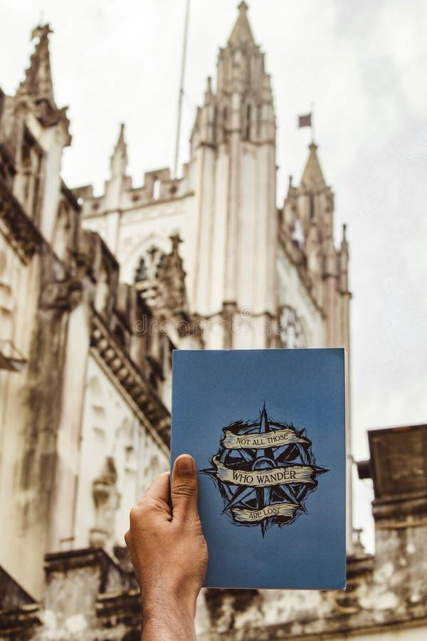 Ano novo na igreja da catedral imagem de stock royalty free