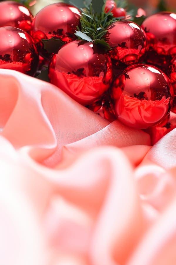 Ano novo, Natal, decoração, festão foto de stock royalty free