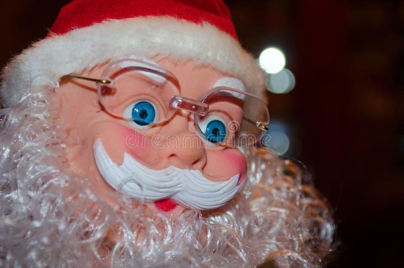 Ano novo, Natal, feriado, feriado de inverno, Sant fotografia de stock royalty free