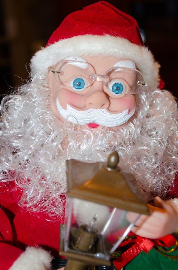 Ano novo, Natal, feriado, feriado de inverno, Santa, cartão, felicitações fotografia de stock royalty free