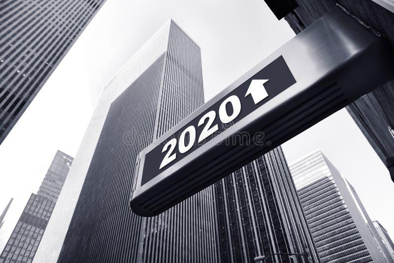 Ano 2020 imagem de stock