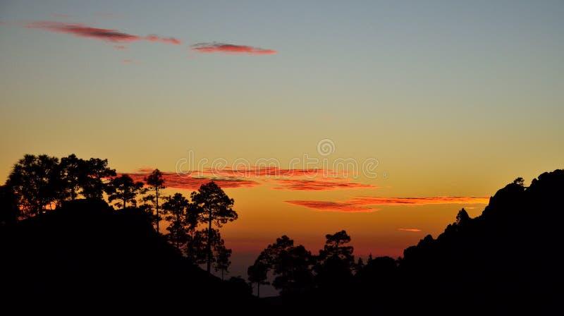 Download Anoitecer No Parque Natural De Pilancones Imagem de Stock - Imagem de gloaming, outdoor: 107529485