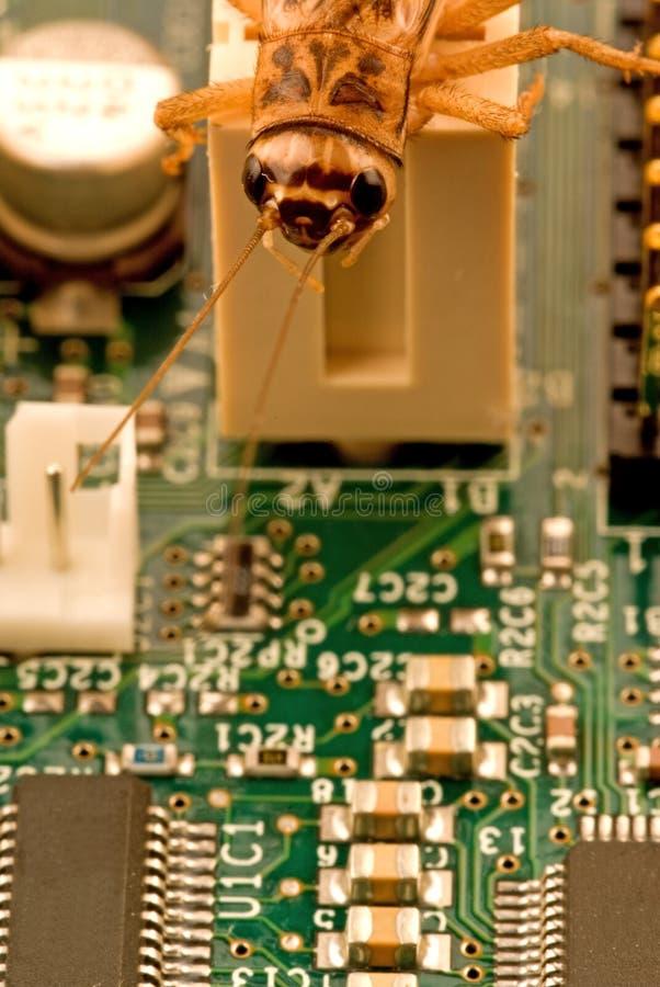 Anomalie d'ordinateur photographie stock