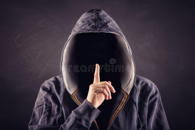 anoniem royalty-vrije stock afbeeldingen
