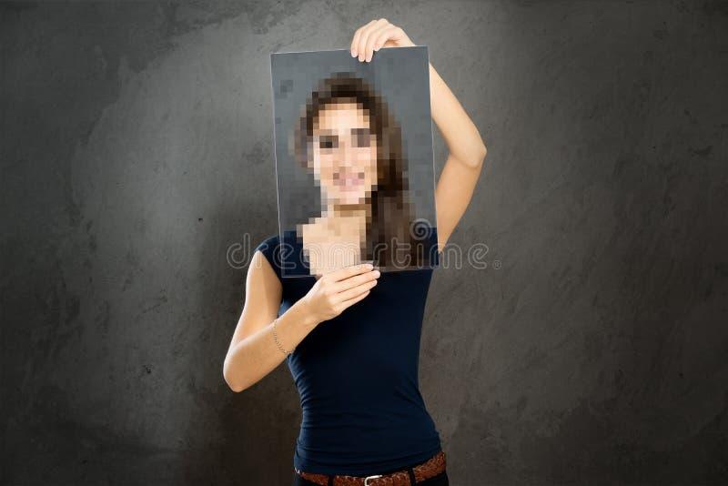 anonimo fotografia stock libera da diritti