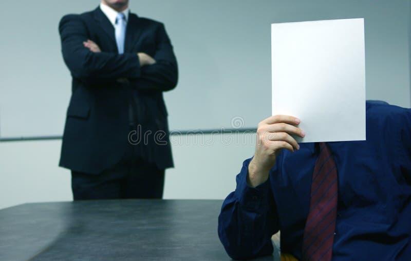 anonimowe spotkania obraz stock