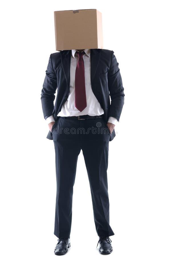 anonimowy biznesowy mężczyzna zdjęcie royalty free
