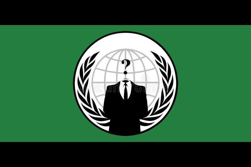 Anonyme Markierungsfahne