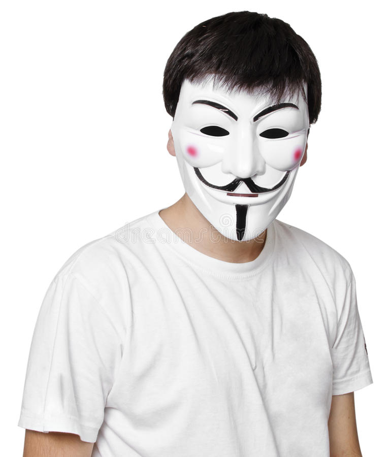 Download Anonymous mask editorial photo. Image of informer, caucasian - 33267506