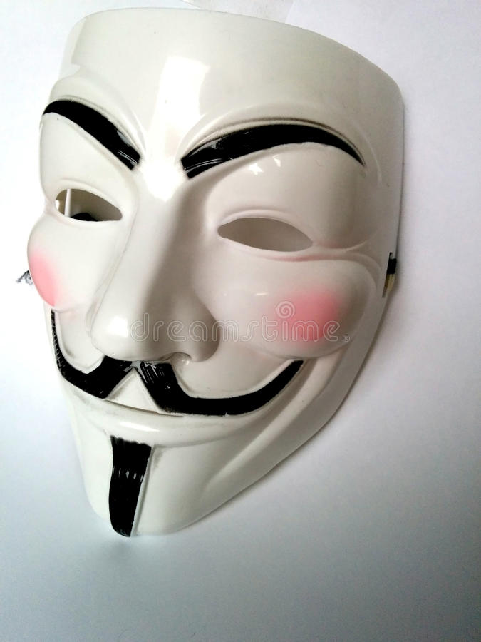 Anonymous mask royalty free stock images