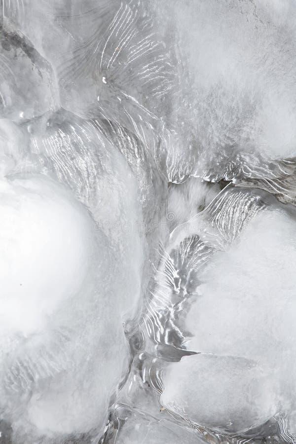 Anordnung des Eises lizenzfreie stockfotos