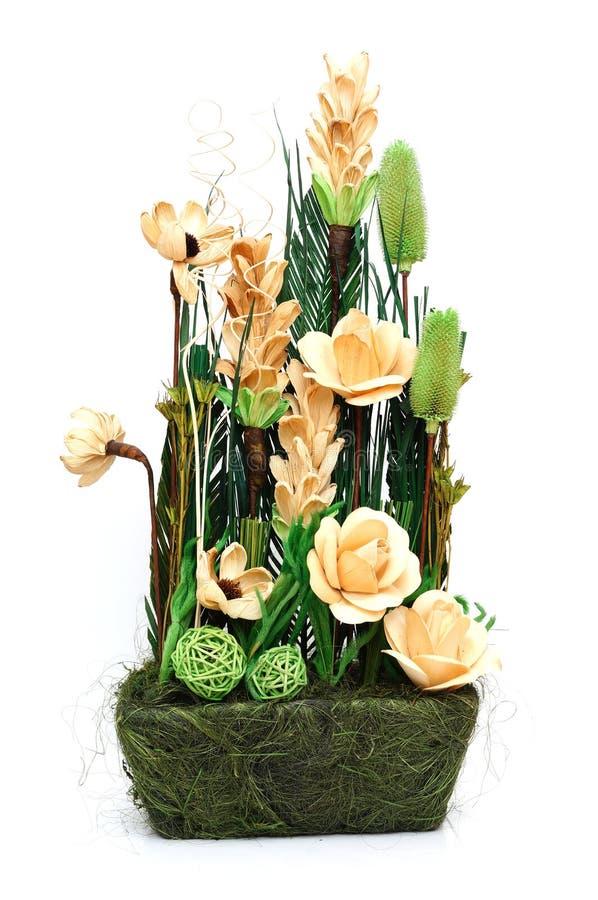 Anordnung für Trockenblumen lizenzfreies stockbild