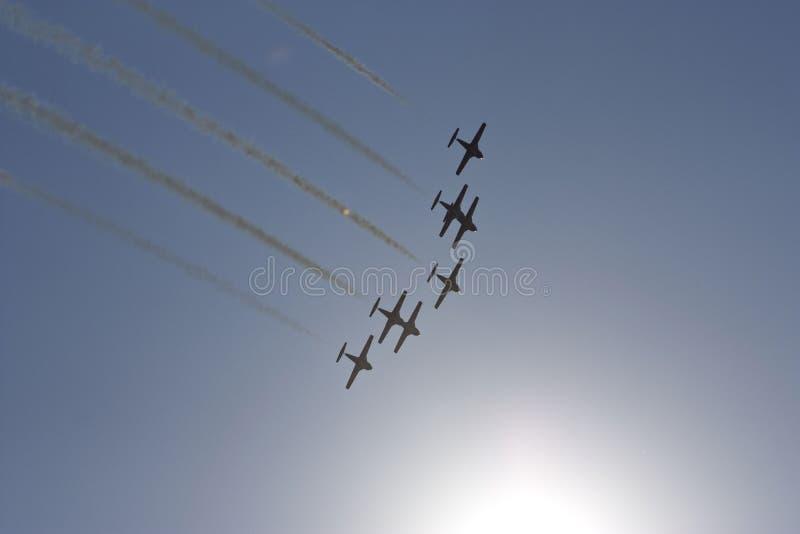 Anordnungsflugwesen lizenzfreie stockfotografie
