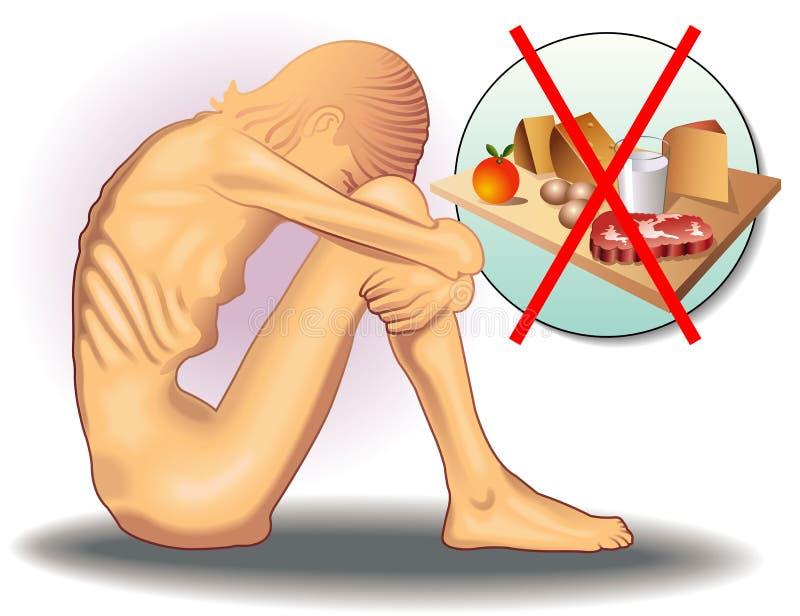 anorexia libre illustration