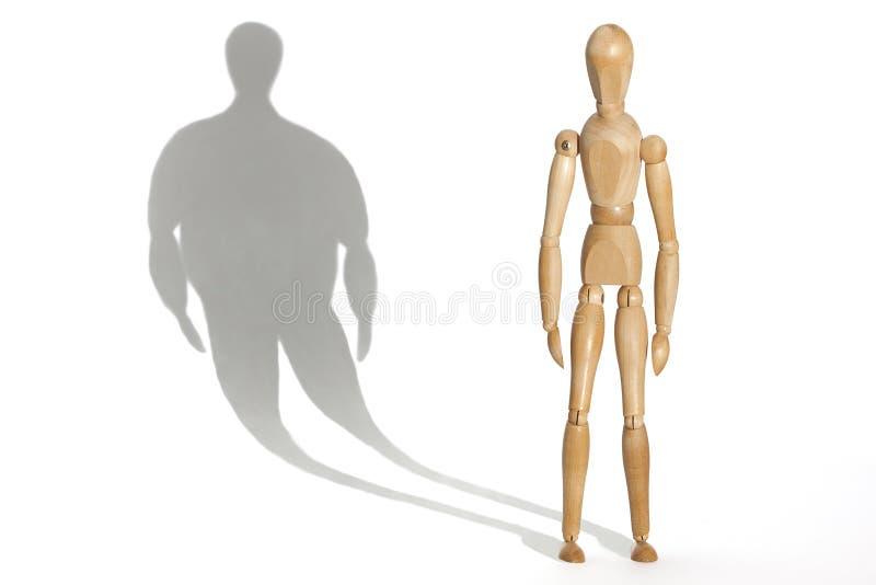 anorexia imagem de stock
