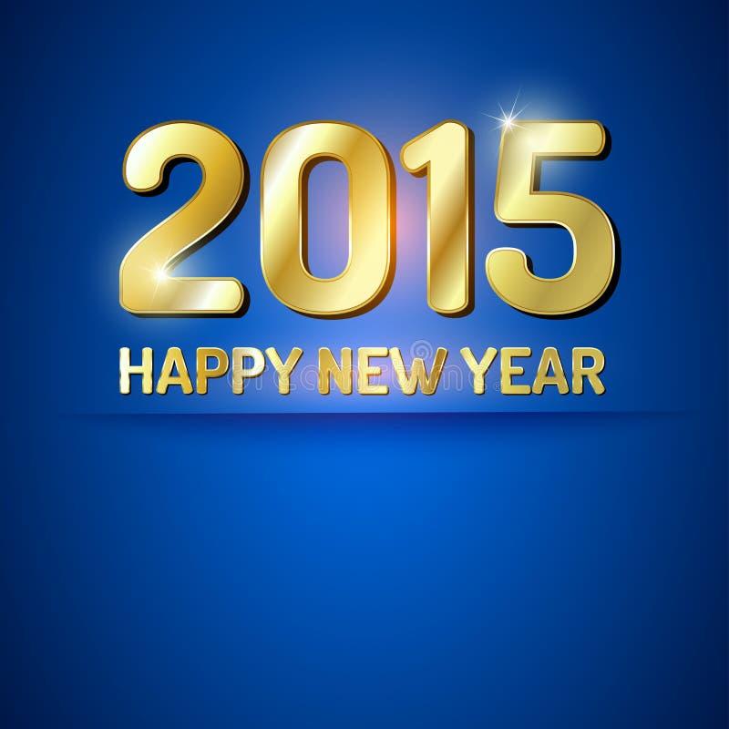 2015 anos novos ilustração do vetor