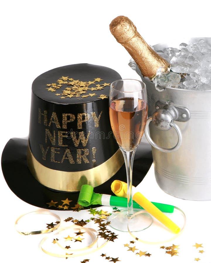 Anos novos da celebração imagem de stock royalty free