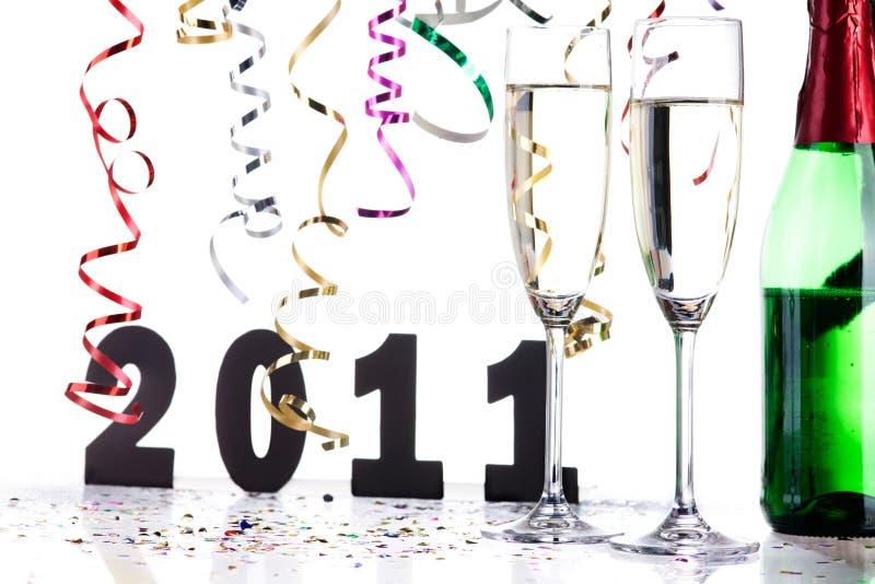 Download Anos Novos Da Decoração Da Véspera Foto de Stock - Imagem de número, fiscal: 16868780