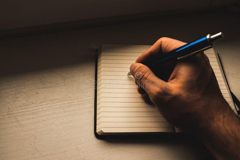 Anotar notas imagenes de archivo