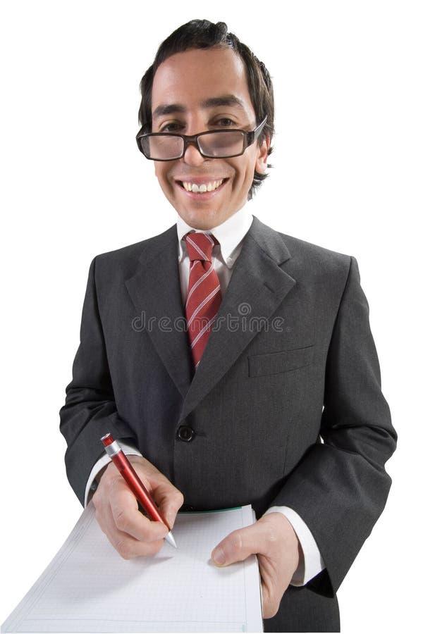 Anote o homem 5 imagem de stock