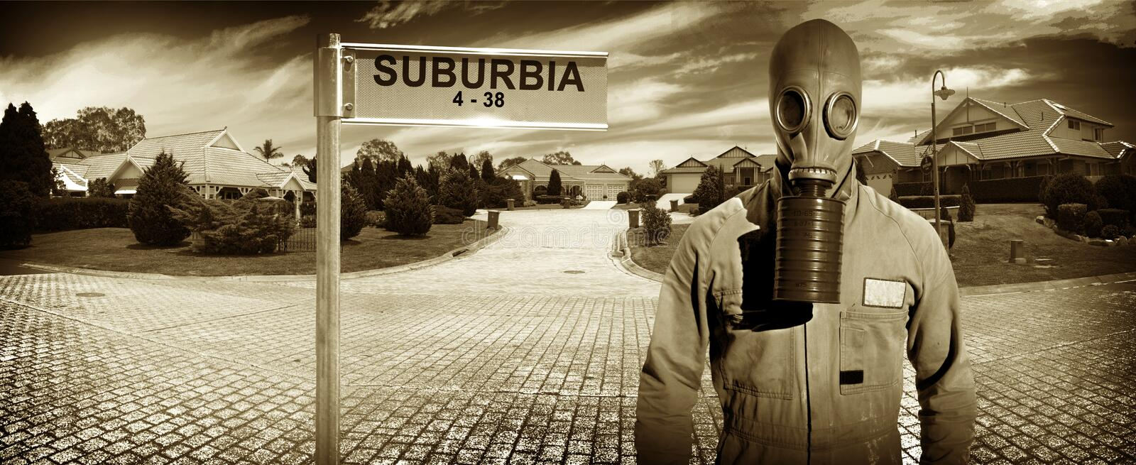 Download Another Day In Suburbia Royalty Free Stock Photos - Image: 14509428