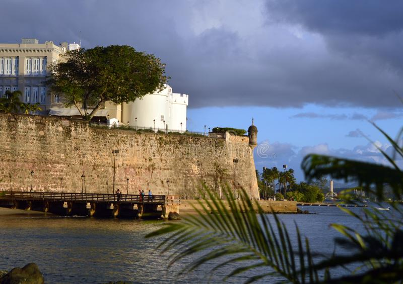 Castle of the Hill, San Juan Puerto Rico royalty free stock images