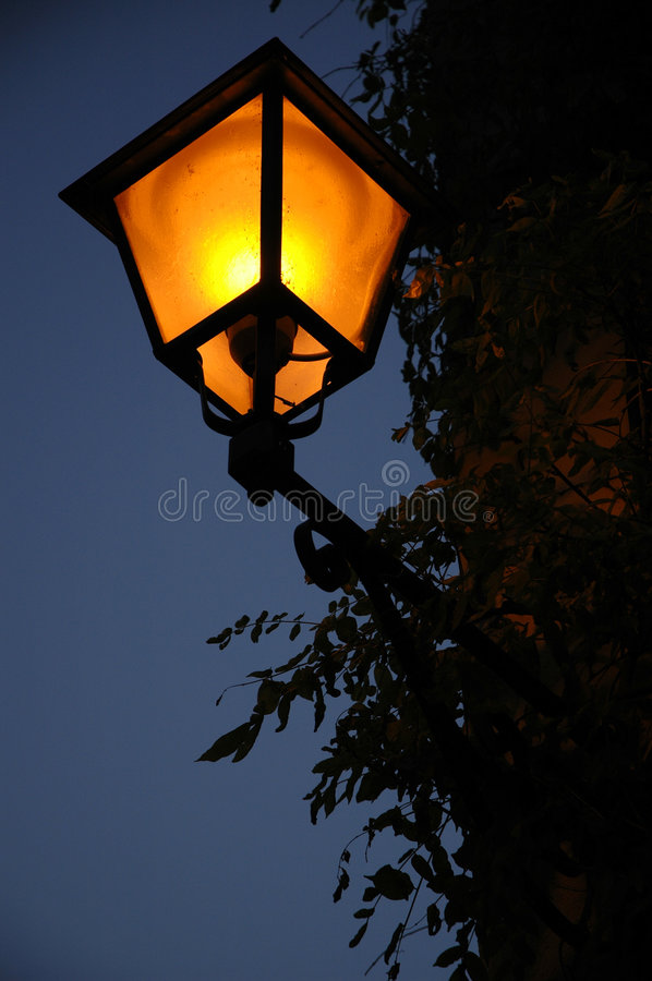 Download Another lamppost stock photo. Image of twilight, rough, lamp - 35364