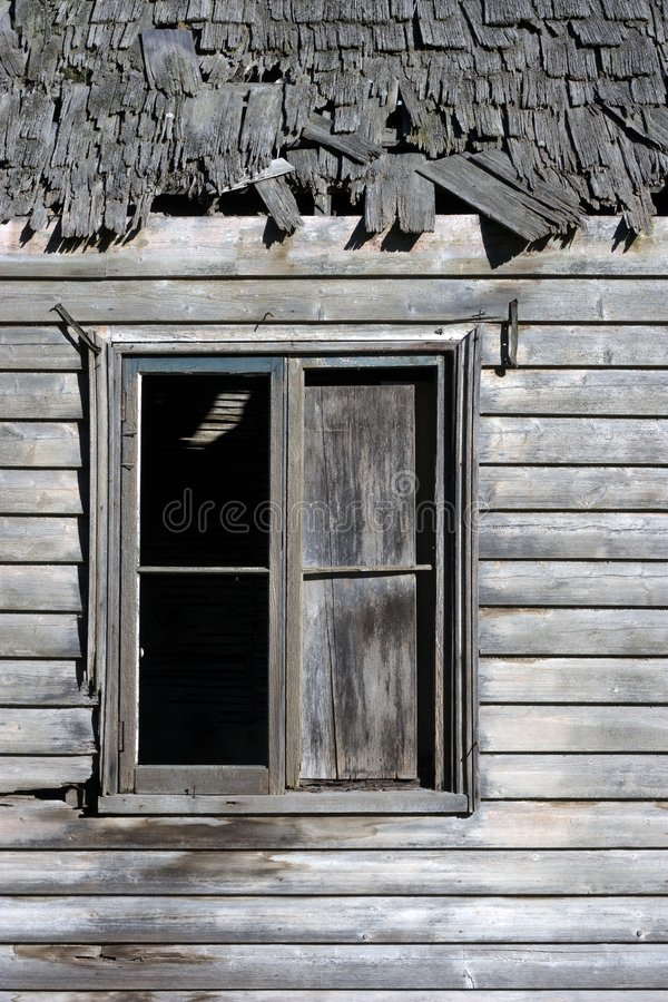 Another old window royalty free stock photography