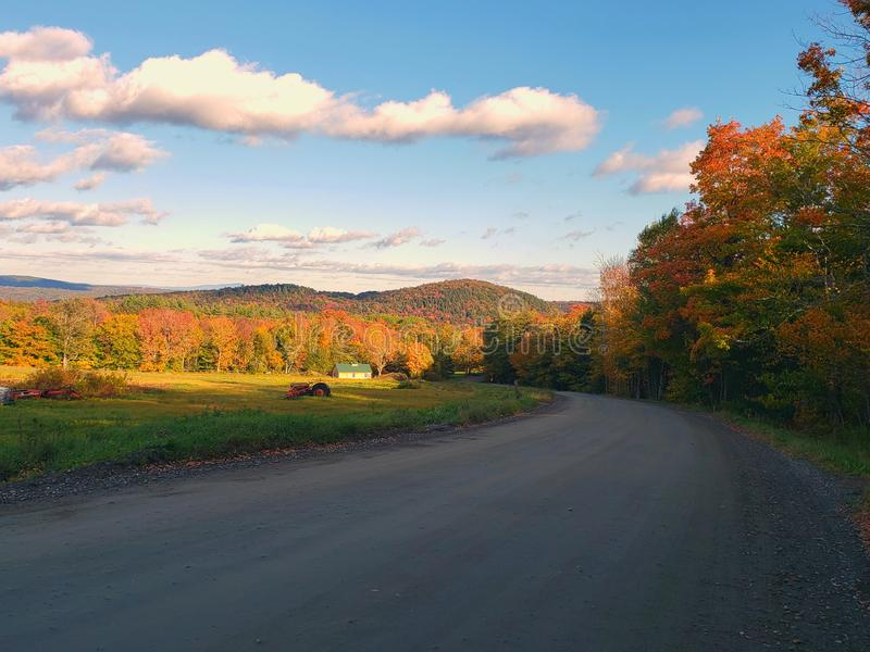 Another vermont day royalty free stock photography
