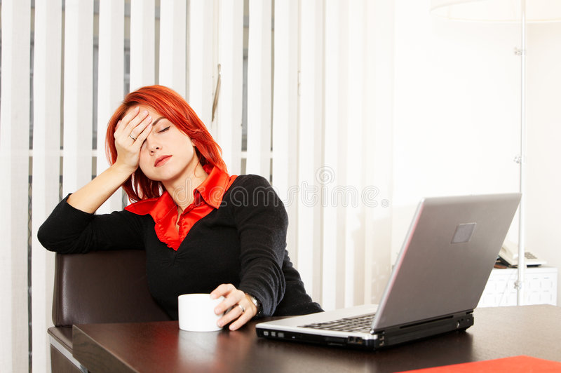Download Another working day stock image. Image of caffee, confident - 7782681