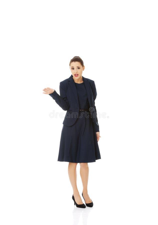 Anoyed i nierad bizneswoman fotografia stock