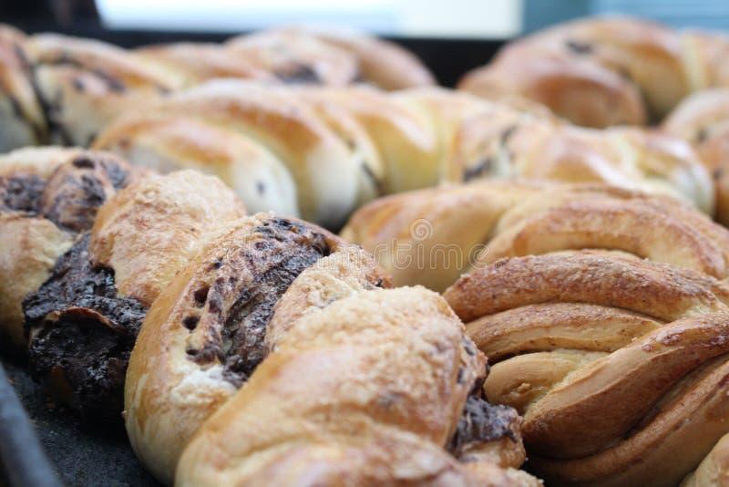 Anpan, pão do feijão vermelho foto de stock